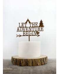 where to buy wedding cake toppers shopping deals on let the adventure begin cake topper you