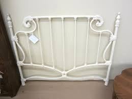Rod Iron Headboard Charming Size White Mid Century Wrought Iron Bedroom Wrought Iron