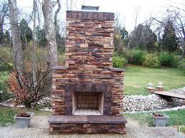 outdoor fireplaces kits u2014 jen u0026 joes design best outdoor