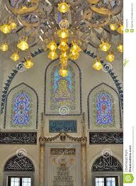 turkish mosque interior design royalty free stock photo image