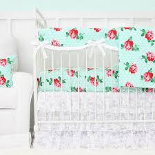 Shabby Chic Crib Bedding Nursery Beddings French Country Baby Bedding Plus Eyelet Crib