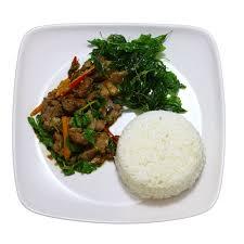 d8 cuisine d8 ข าวราดกระเพรากระด กอ อนหม ต น chef racha food