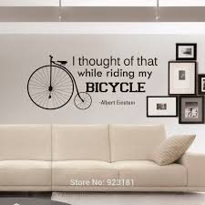 bicycle quotes wall art stickers decal home diy decoration wall bicycle quotes wall art stickers decal home diy decoration wall