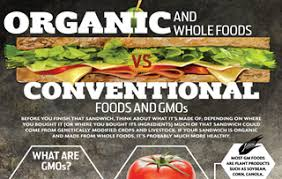 Organic Foods Vs Gmo Conventional Foods Infographic