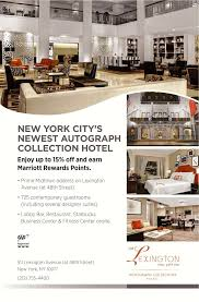 Aaa Business Interiors The Lexington New York City Autograph Collection New York Ny