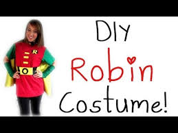 Batman Robin Halloween Costumes Girls Halloween Diy Robin Costume