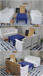Patio Furniture Pallets by Imaginative Ideas With Old Shipping Pallets Recycled Things