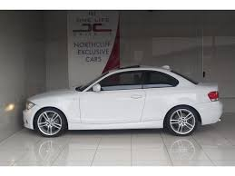 white bmw 1 series sport 2011 white bmw 1 series 125i coupe m sport auto r 219 950