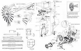 air powered water pump aermotor full windmill parts diagram u2013 aermotor windmill company