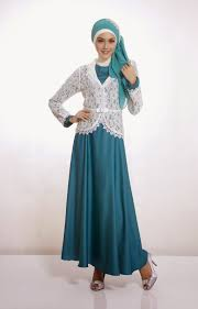 gaun muslim model baju muslim kebaya terbaru