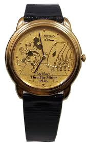 amazon com mickey mouse watch through the mirror mickey with