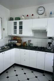 carrelage noir et blanc cuisine carrelage blanc cuisine carrelage noir et blanc tras chic des