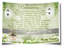 memories of loved ones quotes