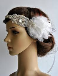 1920s headband 1920s rhinestone headpiece bridal hair 1920 s