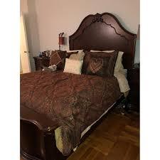 ashley u0027s 4 piece queen bedroom set aptdeco