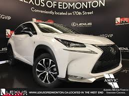 lexus crossover 2017 pre owned 2017 lexus nx 200t demo unit f sport series 3 4 door