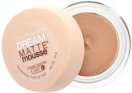 maybelline dream matte mousse classic ivory light 2 maybelline dream matte mousse foundation 64 oz buymebeauty com