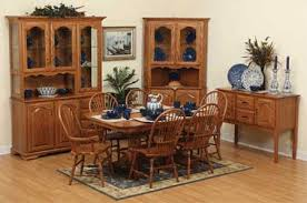 oak dining room set dining room furniture in solid wood save 33 at amish outlet store