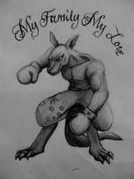 boxing kangergoo tattoo by bubblecrazy on deviantart