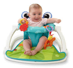 fisher price sit me up floor seat frog toys