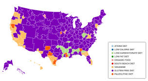 Map Diet The Most Googled Diets In Every City Vox