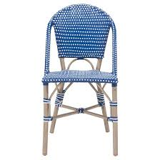 Turquoise Bistro Chair Stackable 2pk Weather Resistant Bistro Chair Navy White Zm