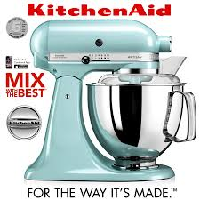 Kitchen Aid Artisan Mixer by Kitchenaid Artisan Stand Mixer Set 1 Ice Blue Cookfunky