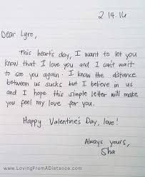 love letter gallery long distance relationships 100 fun