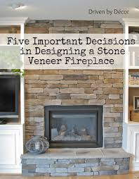 stone for fireplace building a stone veneer fireplace tips for design decisions stone