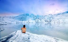 Alaska travel photography images Mouth of the matanuska glacier jpg