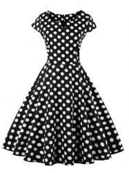 long polka dot dress cheap online sale gamiss com