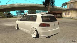 volkswagen golf stance volkswagen golf vi 2010 stance nation for gta san andreas