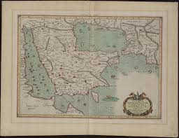 Map Of Bahrain Sixth Map Of Asia Which Includes Arabia Felix Carmania And The