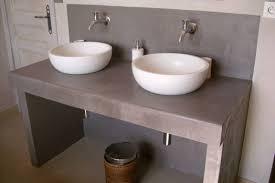 Meuble Salle De Bain Vasque Pas Cher by Indogate Com Fabriquer Meuble Salle De Bain Double Vasque