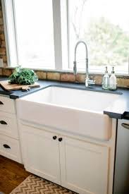 farmhouse sink with faucet holes tags adorable farm sinks for