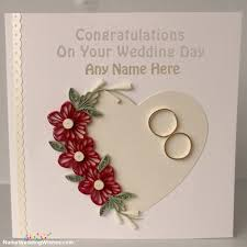 congratulations on your marriage cards marriage congratulations cards with name