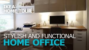 home workspace stylish workspace makeover ikea home tour episode 312 youtube