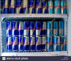 red bull table top fridge red bull cans stock photos red bull cans stock images alamy