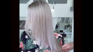 blonde hair with silver highlights rami jabali salon blonde silver highlights blonde hair