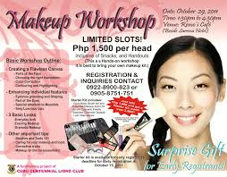 make up classes for studiobox10 makeup workshop beauty for a cause