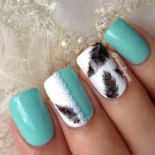40 feather nail art ideas nenuno creative