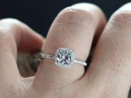 white topaz engagement ring white topaz engagement ring cushion halo diamond cuscino