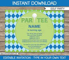 Christmas Card Invitation Templates Free Perfect Free Golf Party Invitation Templates For Inexpensive