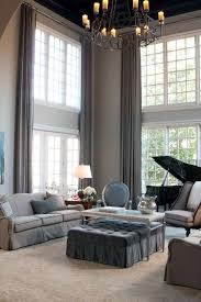 High Ceiling Curtains by Decorating Best Curtains For High Ceilings Curtain Design For