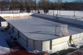 Best Backyard Hockey Rinks Triyae Com U003d Biggest Backyard Ice Rink Various Design