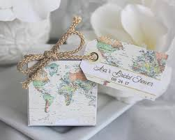 Map Favors by Personalized World Map Favor Box My Wedding Favors