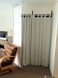 hanging fabric room divider panels hanging sliding room divider