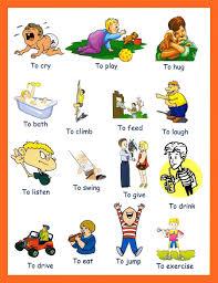kid english verbs list creative writing pinterest english