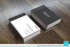 business card template for greek key order custom business card