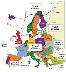 Western Europe Map by Western Europe It U0027s Physical Divisions Climate Natural Region
